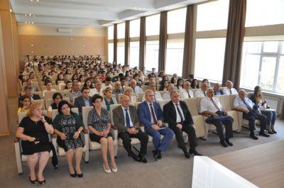 AzMİU-da referendumla bağlı maarifləndirici tədbir keçirilib  FOTOLAR