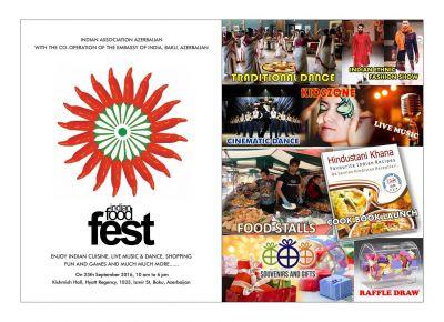 Bakıda Hindistan qida festivalı keçiriləcək