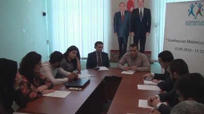 """""""Azərbaycan mədəniyyətlər diyarıdır"""""""