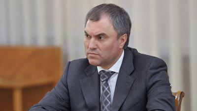 Putin Dumanın sədri vəzifəsinə namizədini açıqlayıb