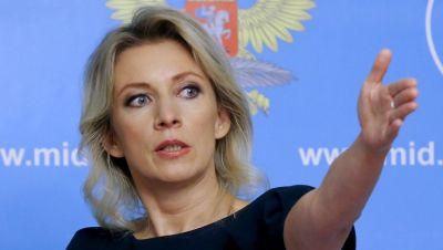 Mariya Zaxarova İngiltərənin baş diplomatını ələ saldı!