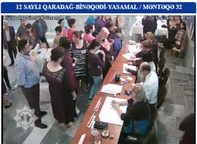 12 saylı Qaradağ-Binəqədi-Yasamal seçki dairəsində səsvermə aktivləşib