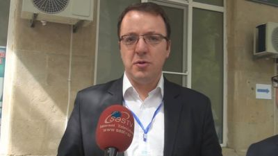 """Aleksandr Nikoloski: """"AŞPA missiyası referendum üzrə yekun rəyi iki aya açıqlayacaq"""" SƏS TV"""