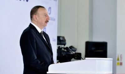 Ильхам Алиев: Территориальная целостность Азербайджана должна быть обеспечена