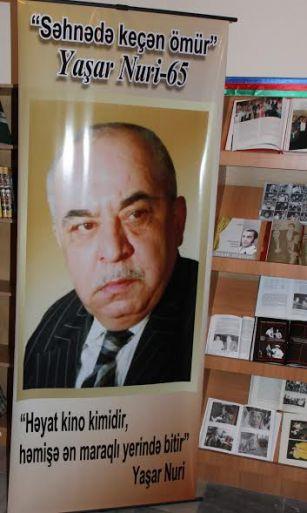 """""""Səhnədə keçən ömür"""" FOTOLAR"""