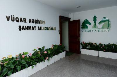 Vüqar Həşimov Şahmat Akademiyasının açılış mərasimi keçirilib FOTOLAR