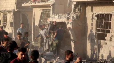 Suriyada zəlzələ təsiri yaradan bombalardan istifadə olunur