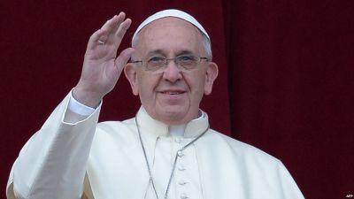 Папа Римский прибыл в Баку