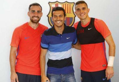 """Pedro """"Barselona""""nın düşərgəsinə qatılıb"""