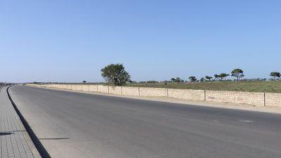 Qala-Pirallahı avtomobil yolunun tikintisi başa çatır FOTOLAR