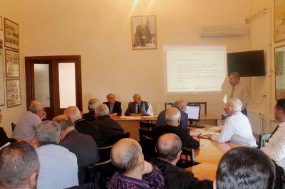 Növbəti seminar-məşğələ keçirilib