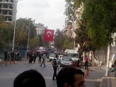 İstanbulda partlayış, yaralılar var