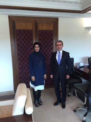İSESKO-nun Baş direktoru Azərbaycan nümayəndəsini qəbul edib FOTO