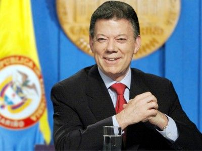 Kolumbiya prezidenti Nobel Sülh mükafatını qazandı