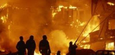 Qaradağ rayonunda 3 otaqlı ev yanıb