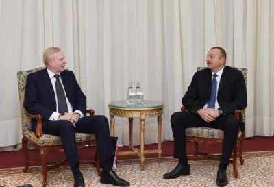Ильхам Алиев встретился с генеральным исполнительным директором компании BP