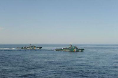 Азербайджан провел тактические учения в Каспийском море