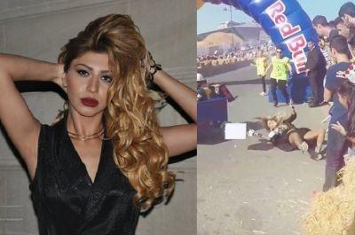 Azərbaycanlı aparıcını maşın vurdu