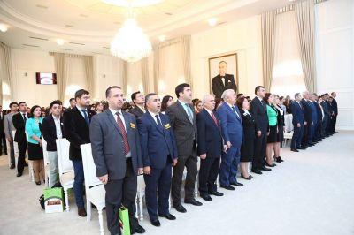 Gəncədə Beynəlxalq Forum öz işinə başlayıb FOTOLAR