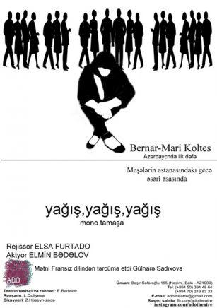 Məşhur fransız dramaturqun pyesi ilk dəfə Azərbaycan səhnəsində