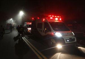 Meksikada turist avtobusu yük maşını ilə toqquşdu: 12 nəfər öldü, 20 nəfər yaralandı