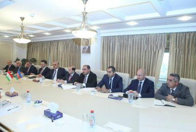 ƏƏSMN-da Tacikistanla inkişaf istiqamətləri müzakirə olunub FOTOLAR