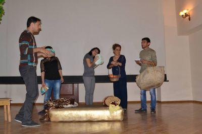 Mingəçevir Dövlət Dram Teatrında yeni uşaq tamaşası