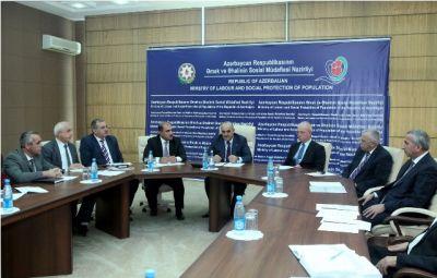 Azərbaycanda yeni yaradılmış Komissiyanın ilk iclası keçirilib FOTO