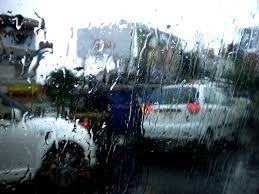 Yağış yollarda tıxac yaratdı