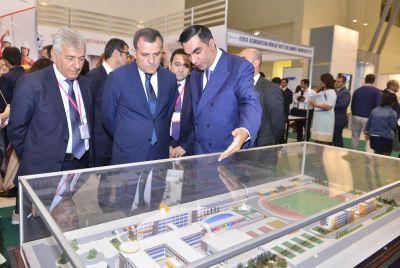 БВШН на 10-й юбилейной Азербайджанской международной выставке «Образование»