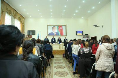 Gəncədə gənc alimlərin Beynəlxalq konfransı keçirilir FOTO