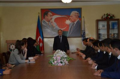 YAP Şəmkir rayon təşkilatının gənc fəalları ilə görüş keçirilib FOTO