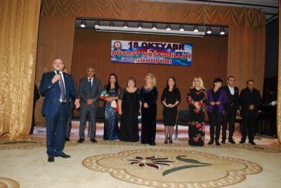 Müstəqillik gününə həsr edilmiş konsert keçirilib FOTOLAR