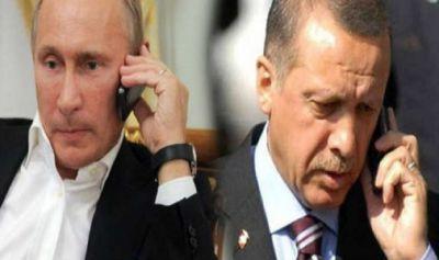 Путин и Эрдоган провели телефонную беседу