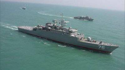 Военные корабли Ирана прибыли в Азербайджан