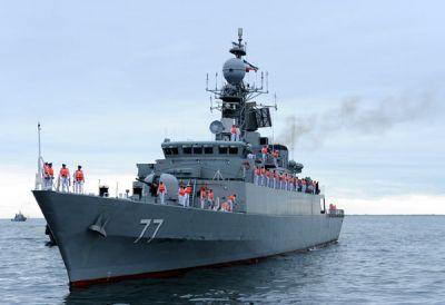 Начался визит военных кораблей Ирана в Баку