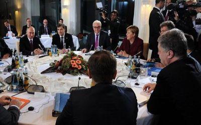 В Берлине завершились переговоры лидеров «нормандской четверки»