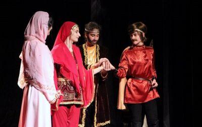 """""""Günay"""" teatr studiyası beynəlxalq festivaldan qayıdıb"""