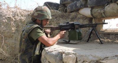 ВС Армении вновь нарушили режим прекращения огня
