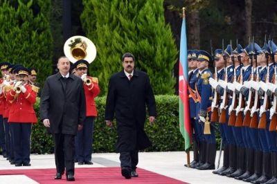 Прошла встреча президентов Азербайджана и Венесуэлы