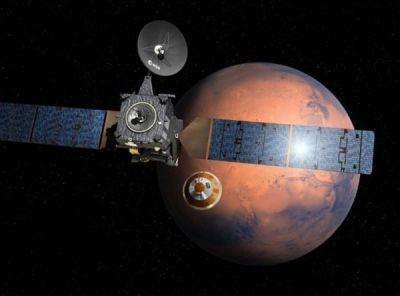 Rusiyanın kosmik cihazı Marsa çırpıldı