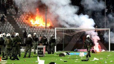 Yunanıstan futbolunda yenə qalmaqal baş verdi