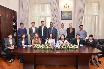 Студенты Губкинского университета в БВШН
