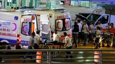 В Анталии произошел мощный  взрыв, есть пострадавшие