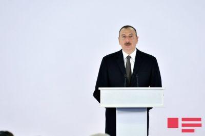 Ильхам Алиев: «Азербайджан превратится в глобальный транспортный узел»