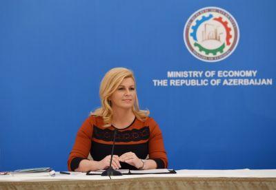"""Xorvatiya prezidenti: """"Ölkələrimiz arasında əməkdaşlıq genişləndiriləcək"""""""