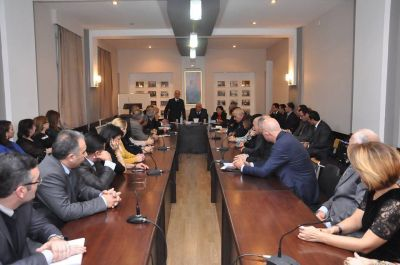 """""""Azərbaycan multikulturalizmi"""" ADU-da müzakirə edildi"""