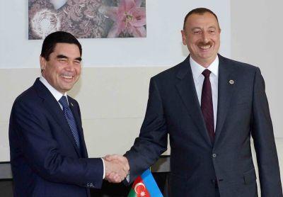 Azərbaycan prezidenti türkmənistanlı həmkarını təbrik edib