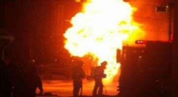 Xətai rayonunda 3 qaraj yanıb