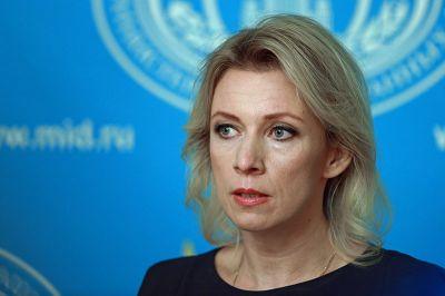"""Мария Захарова о заявлении президента Азербайджана: """"Стороны должны договориться"""""""